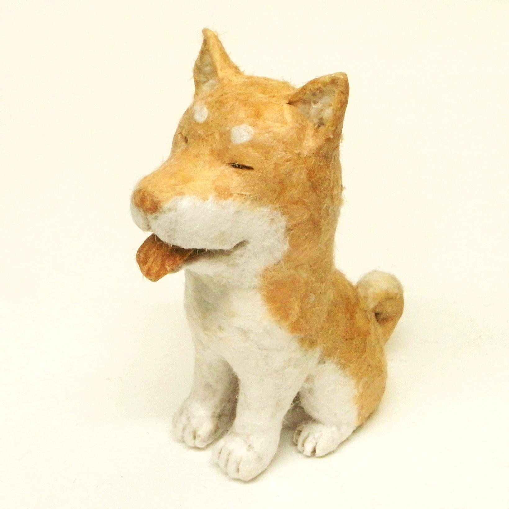 「スモールペーパーアニマル(柴犬編)」講師:金沢和寛